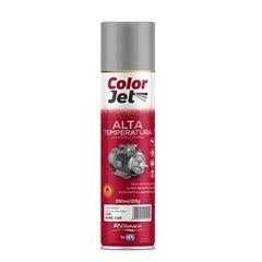 Tinta Spray Alta Temperatura 350ml Color Jet Preto Fosco - Ref.1650.80 - RENNER