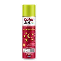 Tinta Spray Luminoso 400ml Color Jet Amarelo - Ref.1660.80 - TINTAS RENNER