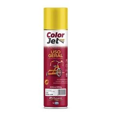 Tinta Spray Uso Geral 400ml Color Jet Alumínio - Ref.1602.80 - TINTAS RENNER