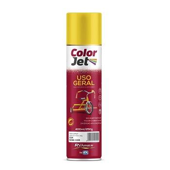 Tinta Spray Uso Geral 400ml Color Jet Grafite - Ref.1610.80 - RENNER
