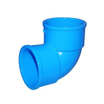 Joelho Irrigação PVC 75mm 90 Graus - Ref. 2060307 - VIQUA