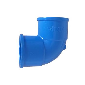 Joelho Irrigação PVC 50MM 90G - Ref. 2060306 - VIQUA