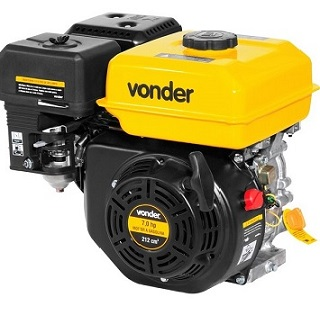 Motor Gasolina 7,0HP 4Toneladas - Ref.6880007000 - VONDER