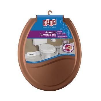 Assento Plástico Universal Almofadado Ocre - Ref. 2391 - HERC