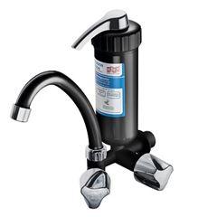 Purificador de Água ABS Plus Preto/Cromado Torneira Bica Móvel - Ref. 2905 - HERC