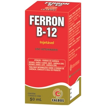 Fortificante Ferron B12 50ml - PA0055 - CALBOS