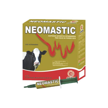 Antimastite Neomastic Vaca Seca 8ml - PA0034 - CALBOS