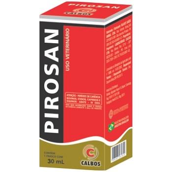 Quimioterápico Pirosan 30ml - PA0090 - CALBOS