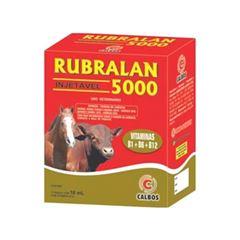 Fortificante Rubralan 5000 B12 10ML - PA0366 - CALBOS