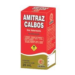 Carrapaticida Amitraz 20ml - Ref.PA0071 - CALBOS