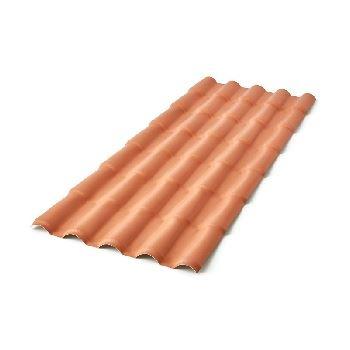 Telha PVC 2,30x0,86m Colonial Cerâmica - Ref.2.301.1230 - PRECONVC