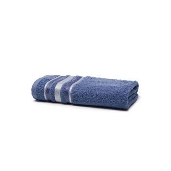 Toalha de Banho em Algodão 70x135cm Prata Serena Indico - Ref.SANPRTBAJSER6135 - SANTISTA