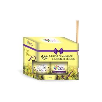 Kit Difusor+Sabonete Líquido 250ml Erva Doce - Ref.006109 - TROPICAL AROMAS