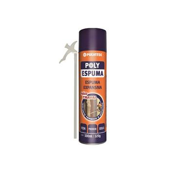 Espuma Expansiva Spray 500ml - Ref. QA005 - PULVITEC