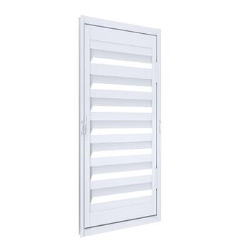 Porta de Abrir de Alumínio para Alçapão 60x60cm Branco - Ref.A140.2 - RIOBRAS