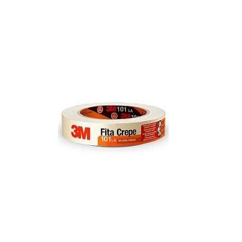 Fita Crepe 101LA 18mmx50m Uso Geral - Ref. HB004572341PT - 3M