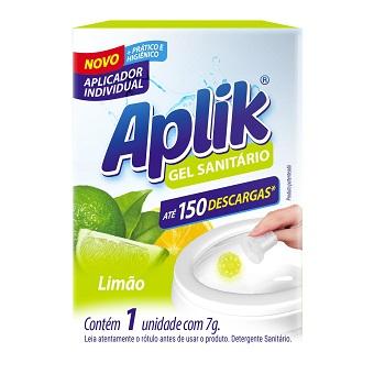 Aplicador de Gel 7g Sanitário Limão - Ref.B000236 - APLIK