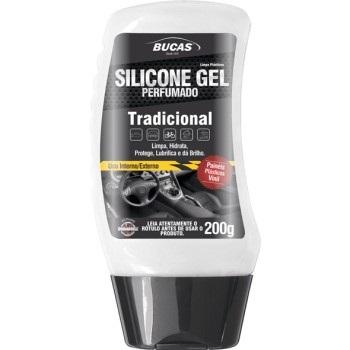 Silicone em Gel 200g Tradicional Bucas - Ref.18404 -   RODABRIL