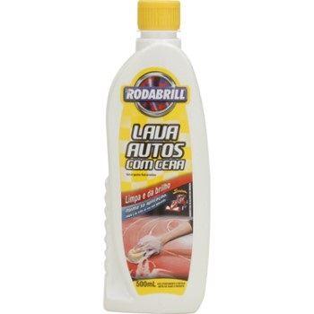 Shampoo com Cera 500ml Lava Auto - Ref. 18966 - RODABRIL