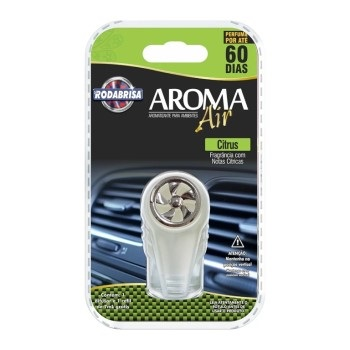 Aromatizante 7ml Air Automotivo Citrus - Ref.13699 - RODABRISA