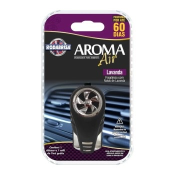 Aromatizante 7ml Air Automotivo Lavanda - Ref. 13224 - RODABRISA