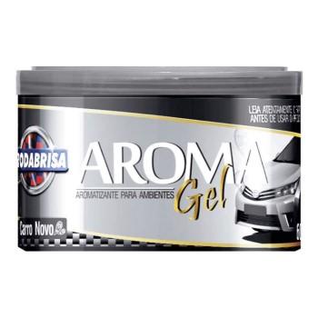 Aromatizante em Gel 60g Carro Novo - Ref. 13108 - RODABRISA