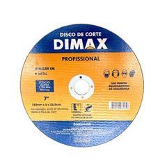 Disco de Corte para Metal 7 Pol. - Ref. DMX64450 - DIMAX