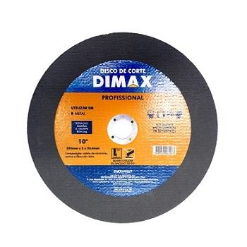 Disco de Corte para Metal 10 Pol. - Ref. DMX64467 - DIMAX
