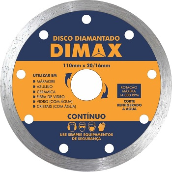 Disco Diamantado Contínuo 110x20mm - DMX64573 - DIMAX