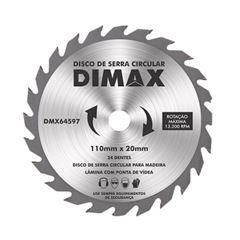 Disco Serra 110mm 24 Dentes Wídia - Ref.DMX64597 - DIMAX