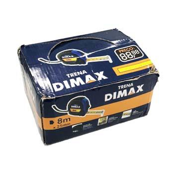 Display Para Trena Emborrachada 8m x 25mm Com 06 Peças - Ref. DMX65587 - DIMAX