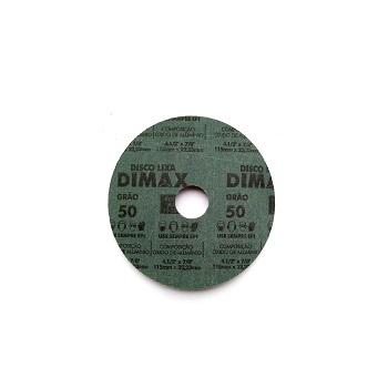 Disco Lixa Grão 50 115x22mm Aço - Ref.DMX64832 - DIMAX