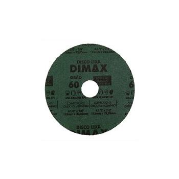 Disco Lixa Grão 60 115x22mm Aço - Ref.DMX64849 - DIMAX
