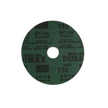 Disco de Lixa Grão 120 Aço 115x22mm - Ref. DMX64870 - DIMAX