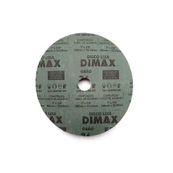 Disco Lixa Grão 36 180x22mm Aço - Ref.DMX64894 - DIMAX