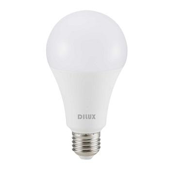 Lâmpada LED Bulbo 9W A60 Bivolt 6500K Branco Frio - Ref.DI55434 - DILUX