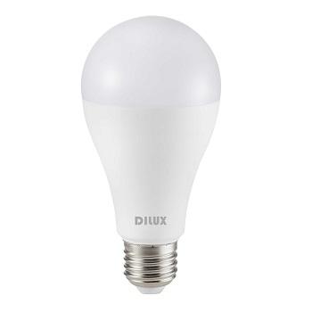 Lâmpada LED Bulbo 15W A65 E27 Bivolt 6500K Branco Frio - Ref. DI55496 - DILUX