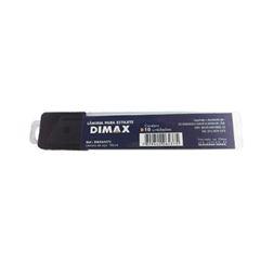 Lâmina de Aço 18mm para Estilete com 10 Peças - Ref.DMX64375 - DIMAX