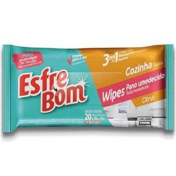 Pano Umedecido Wipes para Cozinha Citrus - Ref.BT4660 - BETTANIN