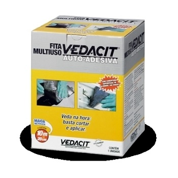 Fita Adesiva 30cmx10m Multiuso Vedação - Ref.121775 - VEDACIT