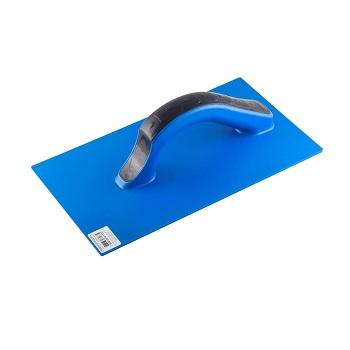 Desempenadeira Azul de PVC Estriada 17x30cm - Ref. 11015 - DIMAX
