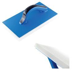 Desempenadeira Azul de PVC com Espuma 14x27cm - Ref. 13014 - DIMAX