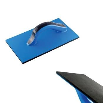 Desempenadeira Azul de PVC com Borracha de 14x27cm - Ref. 14014 - DIMAX