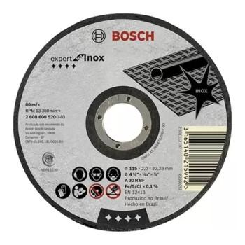 Disco de Corte 4.1/2 Polegadas para Inox - Ref. 2608602262000 - BOSCH