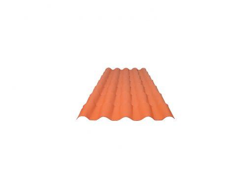Telha PVC 0,88x2,30m Colonia Cerâmica - Ref.10000 - ITEC