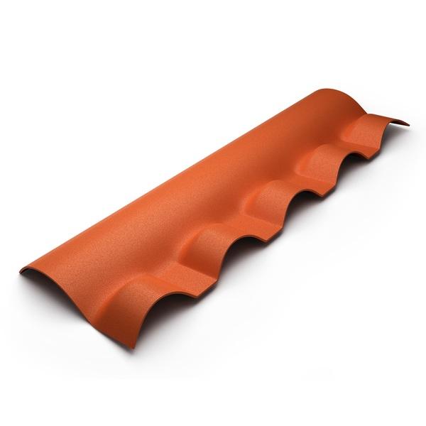 Cumeeira PVC 0,88cm Central Articulada Cerâmica - Ref.10030 - ITEC