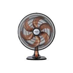 Ventilador Plástico 50cm 220v de Mesa Turbo 6 Pás Bronze - Ref.2147 - VENTISOL