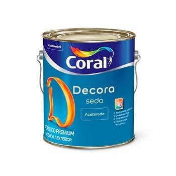 Base MF Tinta Acrílica Seda Decora Acetinado 3,6 Litros - Ref. 5353893 - CORAL