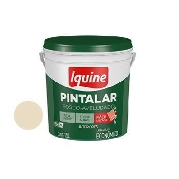 Tinta Vinil Acrílica Pintalar Palha 15 Litros - Ref.79301426 - IQUINE