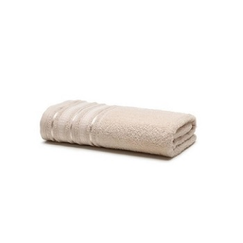 Toalha de Banho em Algodão Prata Holly Bege - Ref.SANPRTBAJHOL8832 - SANTISTA
